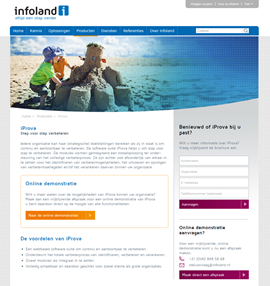Infoland - website