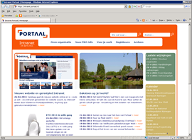 Portaal intranet